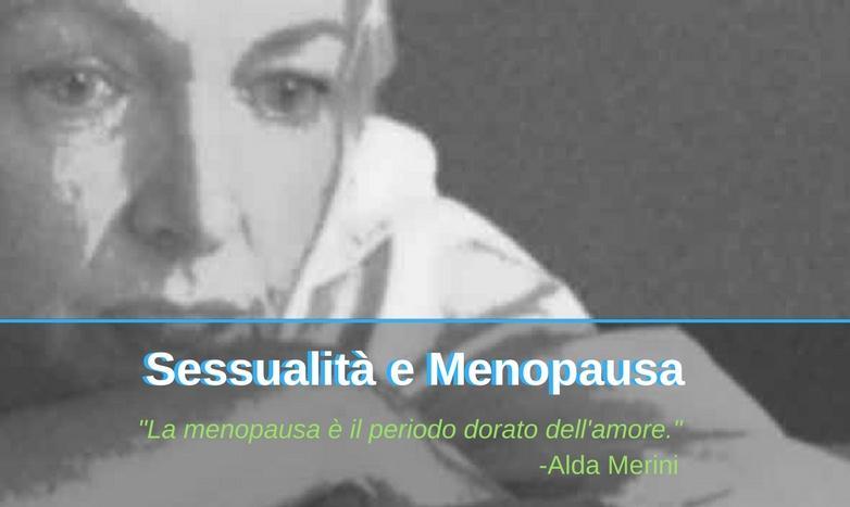 Sassualità e Menopausa Barbara Del Bravo