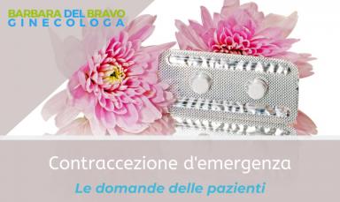 contraccettivo di emergenza - pillola del giorno dopo